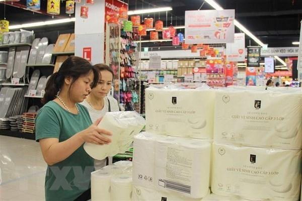 Sube el Indice de Precios al Consumidor de Vietnam en febrero hinh anh 1