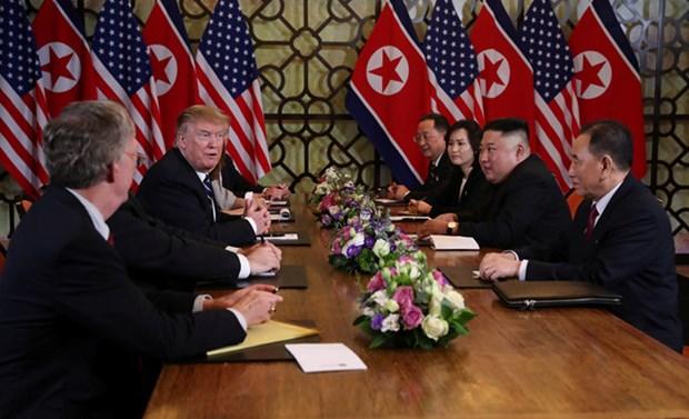 Casa Blanca considera de constructiva segunda Cumbre EE.UU.-RPDC hinh anh 1