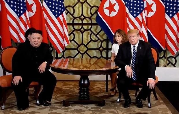 Casa Blanca anuncia agenda de segunda dia de la Cumbre EE.UU.-RPDC hinh anh 1