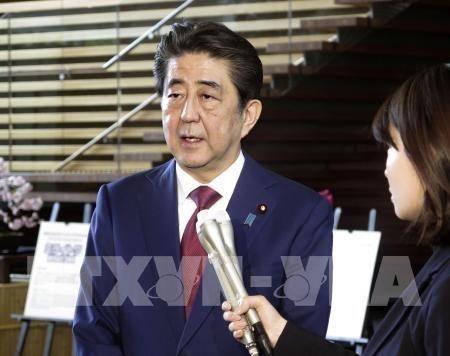 Japon respalda la postura del presidente de Estados Unidos hinh anh 1