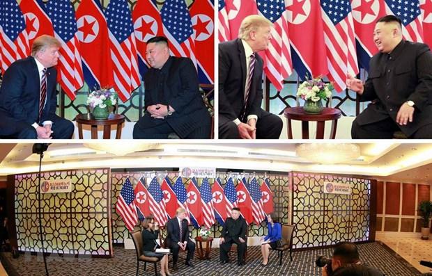 Presidente surcoreano sigue de cerca el desarrollo de la segunda Cumbre EE.UU.-RPDC hinh anh 1