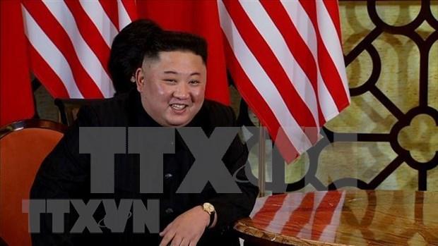 Reafirma Kim Jong-un que espera buen resultado en Cumbre EE.UU.-RPDC hinh anh 1