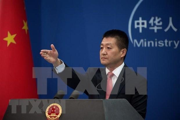 Espera China que el dialogo entre EE.UU. y RPDC pueda continuar, dice portavoz hinh anh 1
