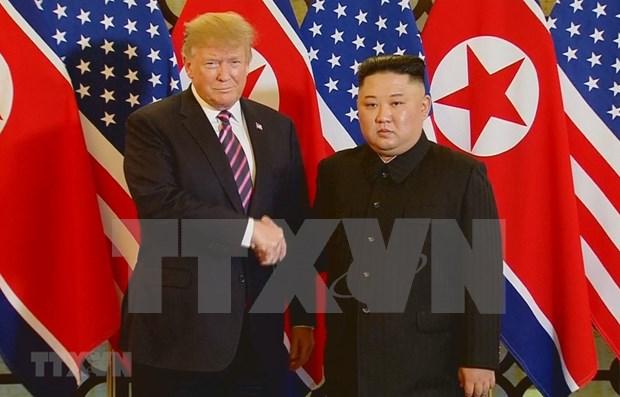 Agencia estatal de noticias norcoreana optimista del resultado de la Cumbre con EE.UU. hinh anh 1