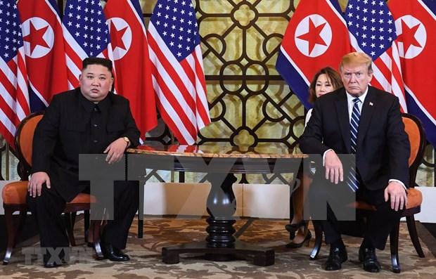 Yonhap analiza posible alcance de segunda cumbre EE.UU.-RPDC hinh anh 1