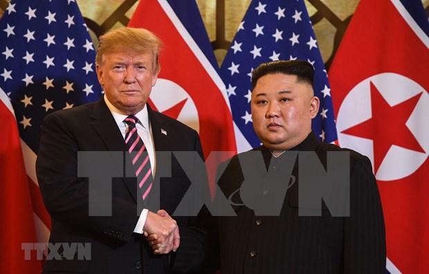 Partidos politicos surcoreanos esperan que dirigentes de EE.UU. y Corea del Norte se reunan pronto hinh anh 1