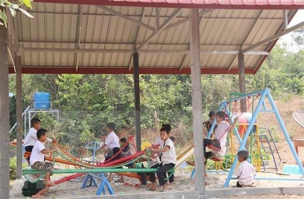 Desarrolla empresa vietnamita en Laos proyectos sociales hinh anh 1