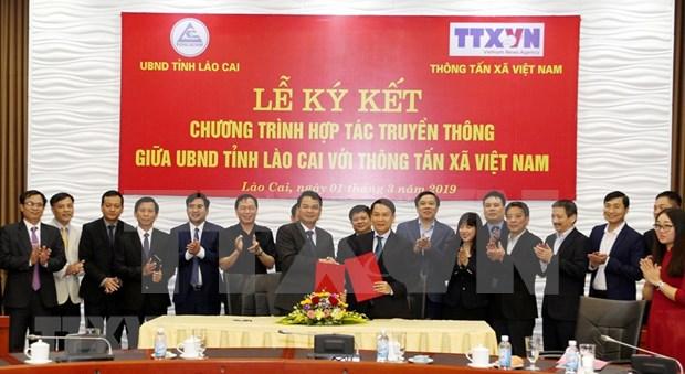 Apoyara VNA a provincia Lao Cai a promocionar sus potencialidades economicos hinh anh 1