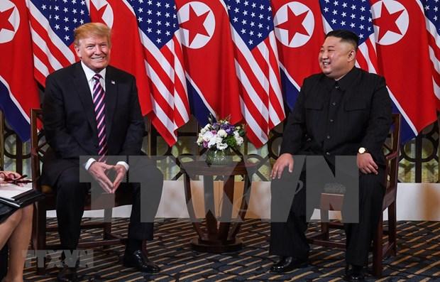 Expresa Trump esperanza en la futura firma de un acuerdo entre EE.UU. y Corea del Norte hinh anh 1