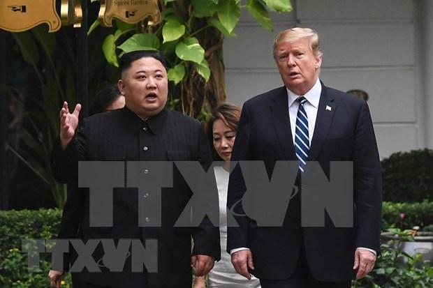 Continuaran presidentes de EE.UU. y RPDC dialogo sobre desnuclearizacion hinh anh 1