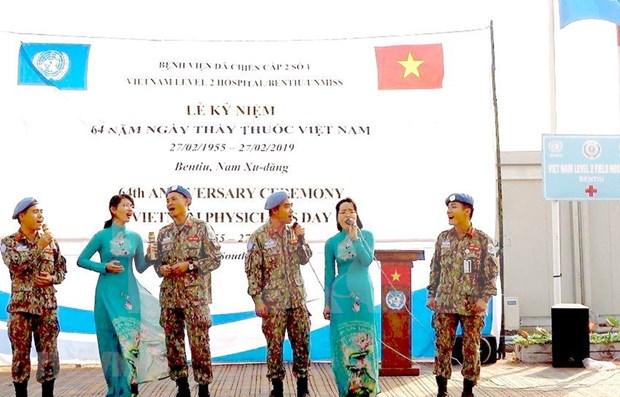 Celebran misioneros vietnamitas en Sudan del Sur el Dia Nacional del Medico hinh anh 1