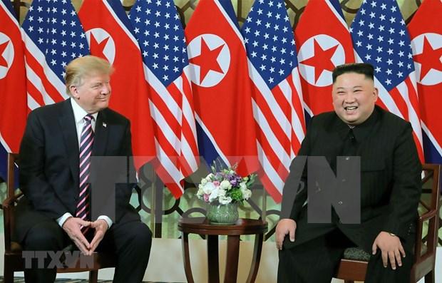 Afirma EE.UU. que esta ansioso por volver a la mesa de negociaciones con Corea del Norte hinh anh 1