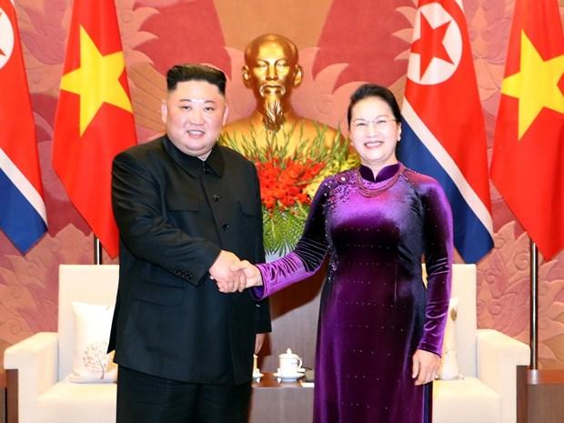 Propone dirigente parlamentaria de Vietnam aumentar nexos legislativos con Corea del Norte hinh anh 1