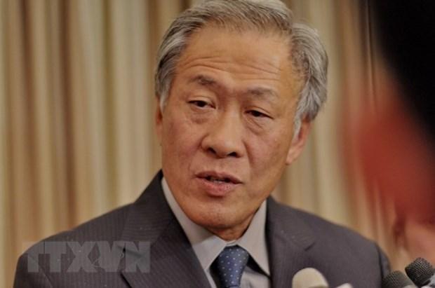 Vietnam y Singapur fomentan nexos de defensa hinh anh 1