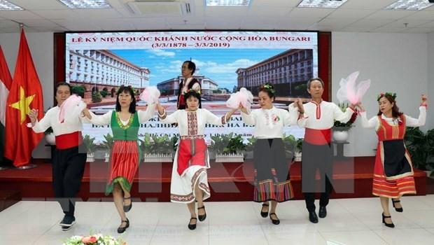 Celebran Dia de Liberacion Nacional de Bulgaria en Ciudad Ho Chi Minh hinh anh 1