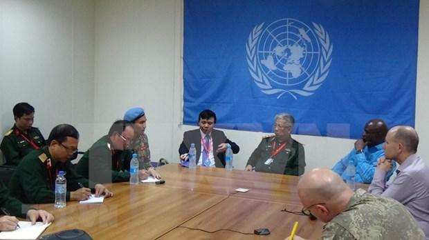 Mision de ONU en Sudan del Sur destaca capacidad de oficiales vietnamitas hinh anh 1