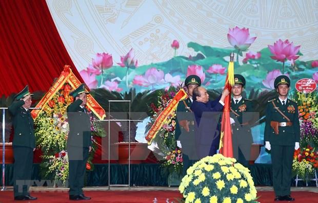 Premier de Vietnam alaba logros de la Guardia Fronteriza en su 60 aniversario de fundacion hinh anh 1