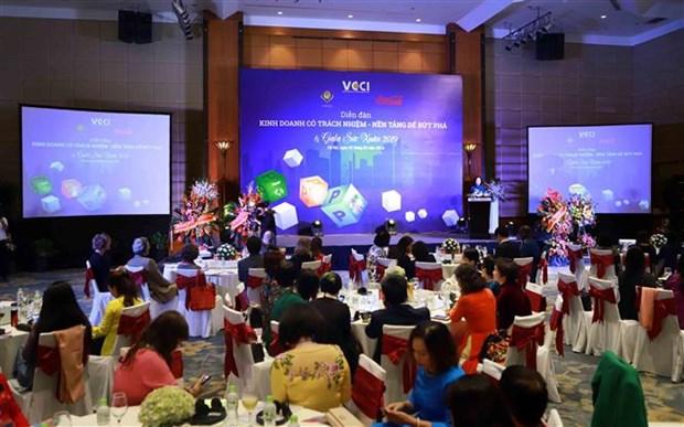 Recomiendan a empresarias vietnamitas realizar negocios responsables y sostenibles hinh anh 1