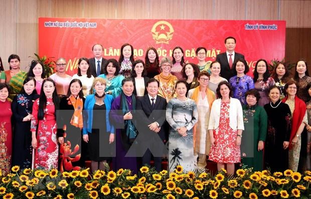 Encuentro de amistad entre mujeres extranjeras y vietnamitas hinh anh 1