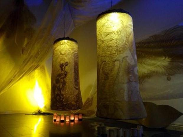 Anuncian exposicion de Truc Chi, creativo arte de Vietnam hinh anh 1