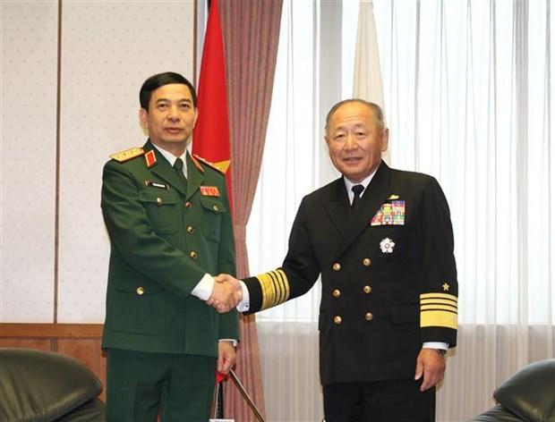 Destacan cooperacion Vietnam-Japon en defensa hinh anh 1