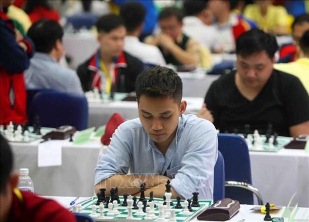 Mas de 300 ajedrecistas participan en torneo HDBank en Vietnam hinh anh 1