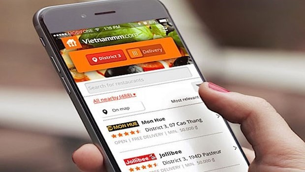 Entrara al mercado de entrega de alimentos de Vietnam firma surcoreana Woowa Brothers hinh anh 1