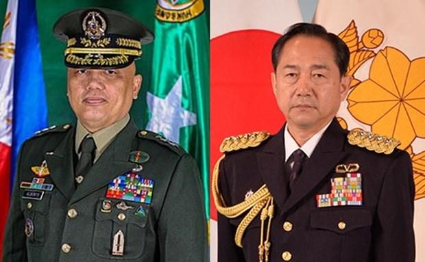 Discuten Japon y Filipinas cooperacion en defensa y seguridad regional hinh anh 1