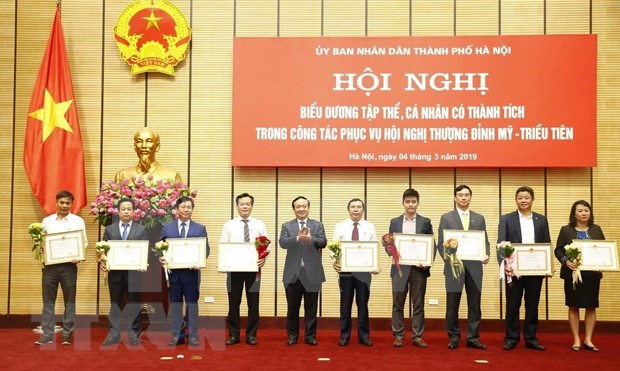 Elogian a VNA por sus aportes a Cumbre EE.UU.-Corea del Norte hinh anh 1