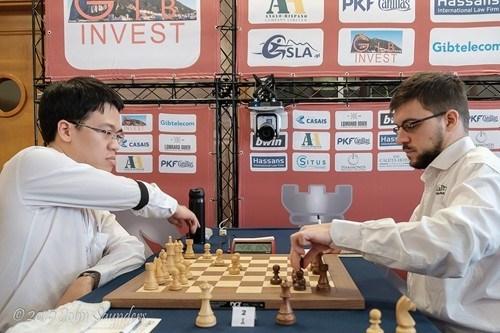 Buen comienzo de ajedrecista vietnamita en torneo internacional hinh anh 1