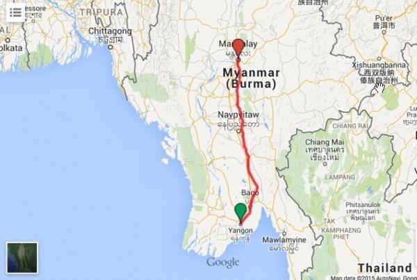 Reportan en Myanmar ocho muertos y 25 heridos tras accidente al volcarse un camion hinh anh 1