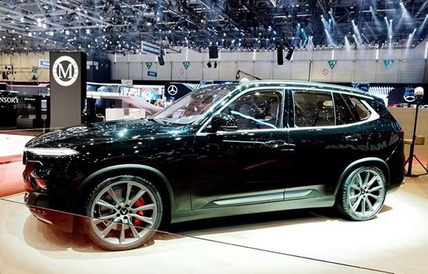 Presenta Vietnam en Ginebra coche deportivo Vinfast de edicion limitada hinh anh 1