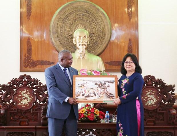 Promueve Vietnam cooperacion agricola con Mozambique hinh anh 1