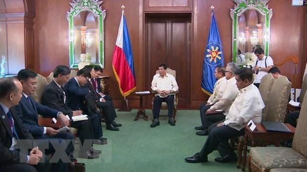 Vietnam y Filipinas discuten medidas para impulsar lazos de cooperacion hinh anh 1