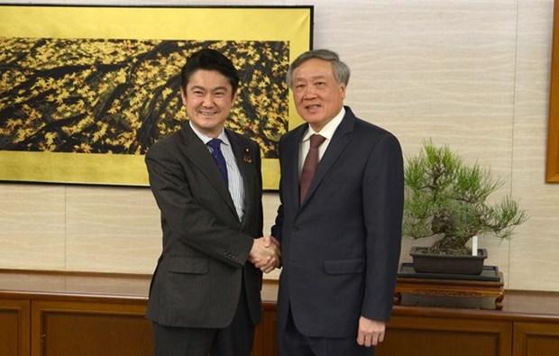 Intensifican cooperacion Vietnam y Japon en sector juridico hinh anh 1