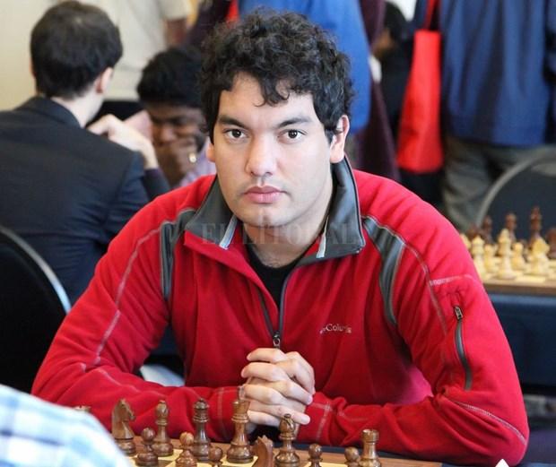 El argentino Mareco Sandro defiende titulo en torneo de ajedrez en Vietnam hinh anh 1