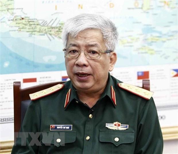 Viceministro de Defensa de Vietnam recibe al director de USAID hinh anh 1