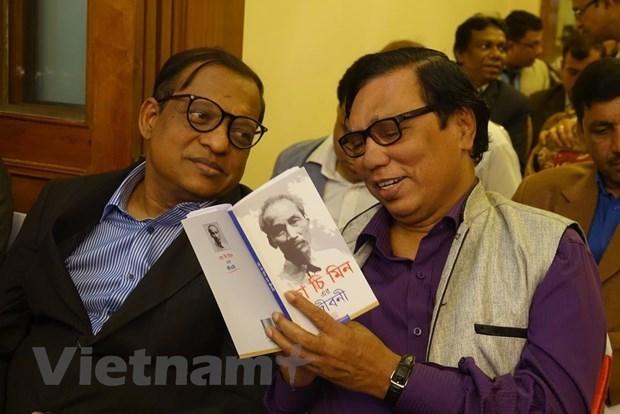 Presentan biografia del presidente vietnamita Ho Chi Minh en idioma bengali hinh anh 1