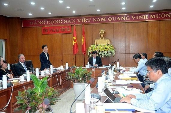 Anuncian en Vietnam proyecto multimillonario de gas licuado con asistencia estadounidense hinh anh 1