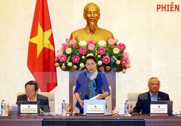 Anuncian reunion 32 del Comite Permanente del Parlamento de Vietnam para la proxima semana hinh anh 1