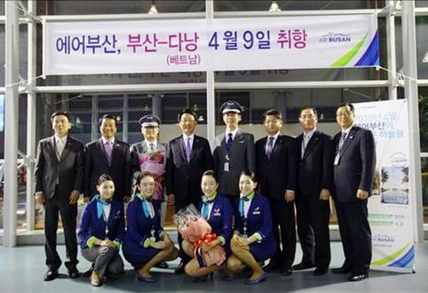 Aerolinea surcoreana aumentara vuelos a ciudad vietnamita de Da Nang hinh anh 1
