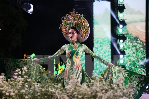 """Festival de """"Ao dai"""" promueve el traje tradicional de la mujer vietnamita hinh anh 1"""
