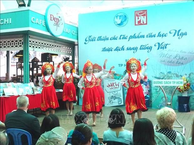 Presentan obras literarias rusas en idioma vietnamita hinh anh 1