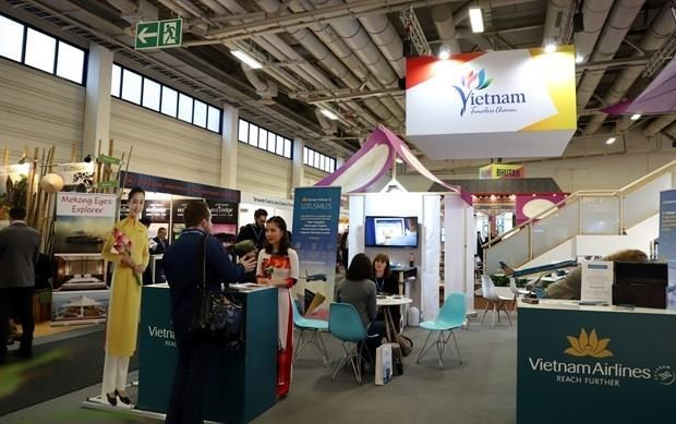 Destacan potencialidades turisticas de Vietnam en Feria internacional en Alemania hinh anh 1