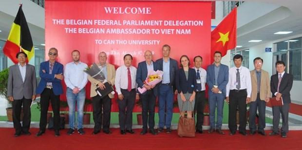 Aspira universidad vietnamita de Can Tho a fomentar cooperacion con Belgica hinh anh 1
