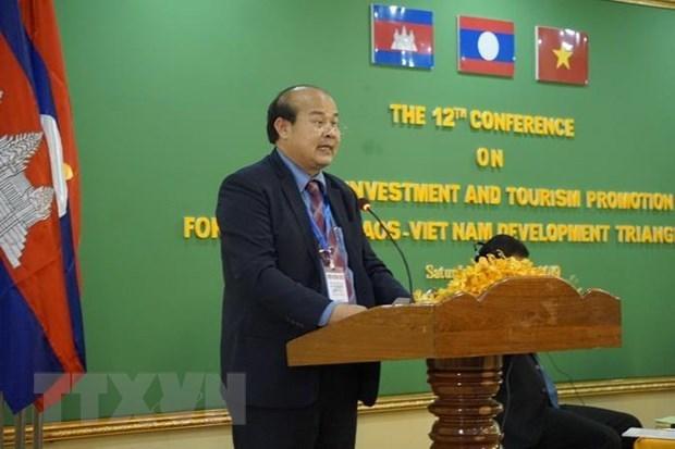 Vietnam, Camboya y Laos trabajan para eliminar los obstaculos al comercio transfronterizo hinh anh 1