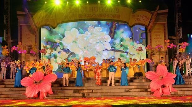 Celebran en Vietnam Festival de Cerezo y Albaricoque Amarillo hinh anh 1