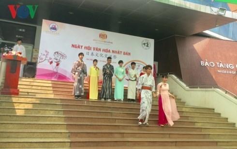 Efectuan Festival de Cultura Japonesa en la ciudad vietnamita de Da Nang hinh anh 1