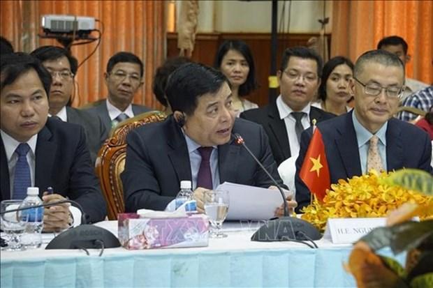 Vietnam construira un plan para la promocion comercial en el Area del Triangulo de Desarrollo de CLV hinh anh 1