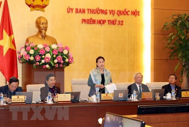 Inauguran reunion 32 del Comite Permanente del Parlamento de Vietnam hinh anh 1